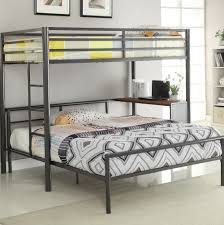 Bunk Bed With Queen Size Bottom Sofa Delicate And Comfortable Pictures On  Amusing Full Bunk Bed Over Queen Beds Bottom Size Frame Plans Travel Trailer