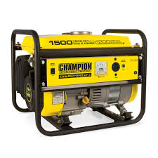Champion Power Equipment 1 200 Watt Recoil Start Gasoline Powered