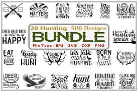 Files compatible with cricut, cameo silhouette studio! 598 Hunting Svg Designs Graphics