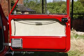 morris de luxe had black plastic kick plates on the doors basic models in most countries did without kick plates