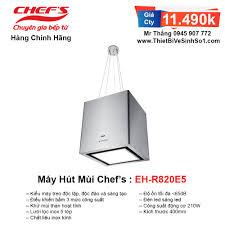 Máy Hút Mùi Chefs EH-R820E5 | Tổng Kho Bếp Nhập Khẩu Chính Hãng
