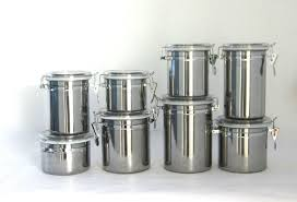stainless steel canisters kitchen kitchen ideas in stainless steel kitchen canister set