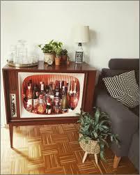 Retro Wohnzimmer Lieblingsmöbelstück Bar Barschrank Vintage