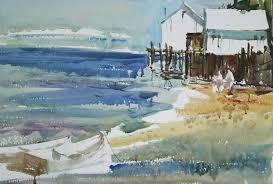 watercolor painting tutorial by steve fleming