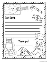 Coloring Page Christmas Wish Listl