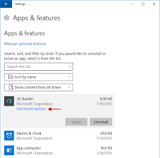 How To Reset A Windows 10 App When It Fails To Work