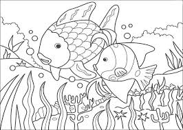 rainbow fish coloring pages nature coloring page on rainbow fish coloring pages bebo pandco with
