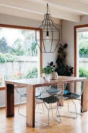 house tour a cool earthy california home dining room