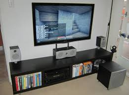lack tv wall mount without drilling
