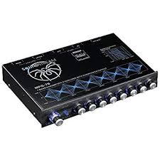 amazon com wet sounds ws 420 sq 4 band parametric equalizer soundstream mpq 7b 7 band 1 2 din equalizer