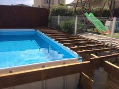 intex above ground pool decks. Brilliant Intex Piscine Et Spa   Intex UltraSilver Enterre For Above Ground Pool Decks