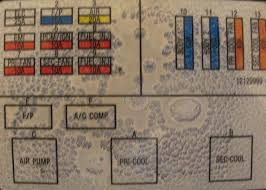 1995 caprice fuse box diagram? chevy impala forums 1992 chevy caprice fuse box location at 93 Chevy Caprice Fuse Box