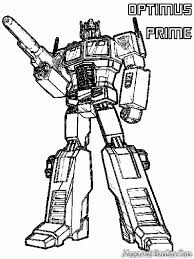 Small Picture Transformer Optimus Prime Coloring Pages Coloring Home