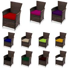 replacement dining chair cushions to fit rattan garden furniture patio wicker