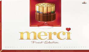 Купить шоколадные <b>конфеты MERCI Ассорти</b>, 400г в торговых ...