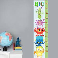 Monster Height Chart Cutemonstrs Height Charts