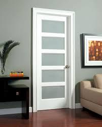swinging solid wooden glass panel interior doors new design