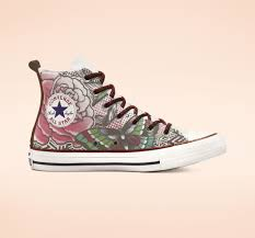 Chuck Taylor All Star Rose Tattoo High Top