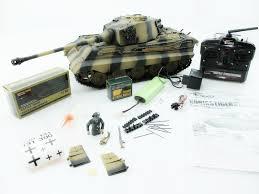 <b>Радиоуправляемый танк Torro</b> King Tiger башня Henschel ВВ ...