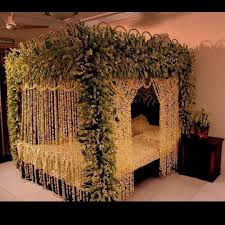 Room Decoration For Wedding Night With Lights