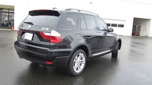 Bmw x3 2008 get it with the latest numberplate at this cheap price. 2008 Bmw X3 Black Stock 6680g Walk Around Youtube