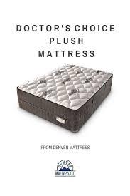 denver mattress doctor s choice euro top. sleep healthier. live healthier.™ the doctor\u0027s choice gently cradles your body while you denver mattress doctor s euro top r