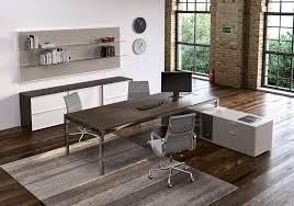 metal wood modern work desk  ambience doré