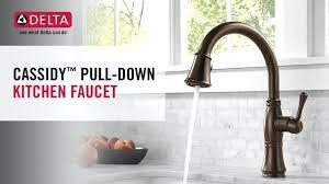 delta cassidy kitchen faucet. Delta Cassidy Faucet Single Handle Pull Down Kitchen Specs . T