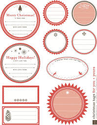 Christmas Tag Template 4 Gift Tag Template Free Download