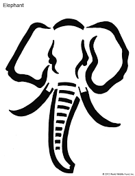 Elephant Pumpkin Carving Pattern New Pumpkin Carving Patterns From WWF Free Stencil Downloads World