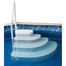 Blue Wave Wedding Cake Above Ground Pool Step Walmartcom