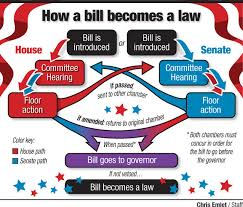Bill To Law Chart How A Bill Becomes A Law Lancasteronline Com