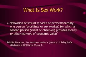 Sex Worker Health San Francisco Style The St