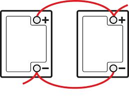 6 Volt Battery Wiring Diagram For Coach Wire 2 6 Volt Batteries to 12 Volt