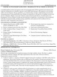 Process Validation Engineer Cover Letter Templates System Website