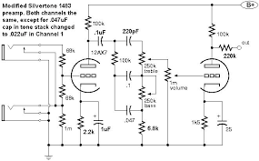 silvertone 1483 bass amp here s a schematic of the modified silvertone 1483 preamp and another schematic of the power amp