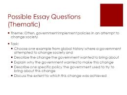 global history thematic essay common us history thematic essay topics us history regents essays