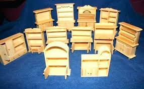 cheap wooden dollhouse furniture. Unfinished Dollhouse Furniture Wooden Image Of Wood Cheap D