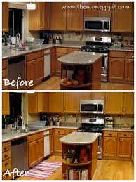 Update Oak Kitchen Cabinets Simple Ideas