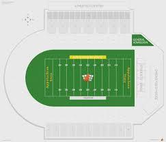 Michigan Stadium Map With Rows