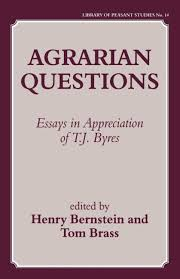 agrarian questions essays in appreciation of t j byres  agrarian questions essays in appreciation of t j byres paperback routledge