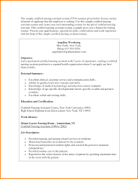 Cna Duties For Resume Resume For Study