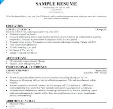 Entry Level Mechanical Engineering Resume Awesome Resume Samples For Mechanical Engineering Students With Mechanical
