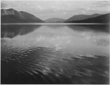 mcdonald lake glacier national park montana ansel adams taken between 1933 and 1942