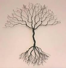 metal wall tree wire tree wall sculpture wall art uk seller wire on wooden tree wall art uk with the 10 best wall art images on pinterest wood art wood wall art