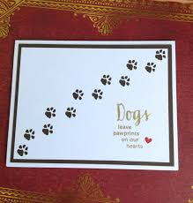 Sympathy Card Pet Loss Pet Sympathy Card Pet Loss Card Dog Sympathy Card Handmade Card