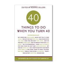 40th birthday gift 40 things to do