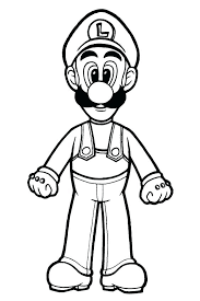 Mario And Luigi Coloring Page Coloring Pages Super Brothers Coloring