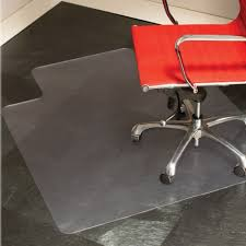 48 chair mat with lip for hard surfaces