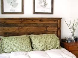 15 Ideas and Secrets For Making DIY Wooden Headboards Look Expensive #1:  Finish With